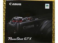 BNIB Canon Powershot G7X Digital Camera