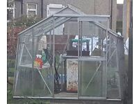 Greenhouse 8 x 8 ft