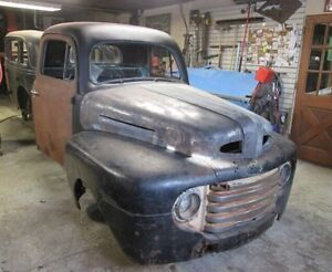1948 Ford cab and front clip!