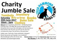 Charity Jumble Sale This Saturday in Canning Town!