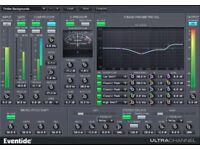 Eventide ultra channel/eq effects/Recording studio software