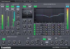 Eventide ultra channel/eq effects/Recording studio software