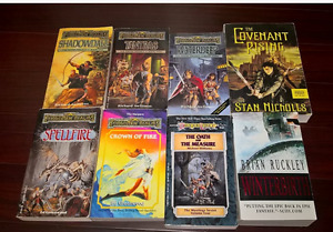Forgotten Realms, Dragon Lance, Fantasy books