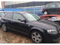 Audi A3 2.0 tdi auto dsg spares repairs £695