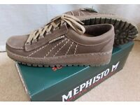 Mens Mephisto Rainbow - Taupe sportbuck leather Size 8 - Barely worn - £80 ono