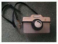 Monsoon camera shaped bag