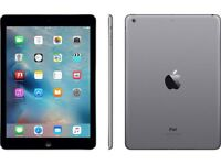iPad Air 16gb wifi and cellular space grey