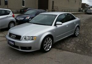 2004 AUDI A4 Ultra sport S-line Package