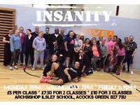 ACOCKS GREEN - INSANITY & BOOTCAMP FITNESS CLASS