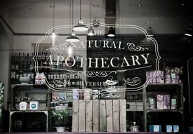 The Natural Apothecary is looking for a Chef - great salary, DAYTIME ONLY