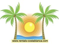 Costa Blanca, Spain. Holiday Accommodation