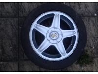 MINI cooper s one 16 inch 5 spoke r56 alloy wheel with good tyre
