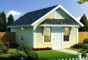 NEW $26,500,00 CONSTRUCTED 384 SQ FT BUNGALOW ON YOUR LOT