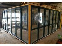 Nordan windows and double doors