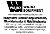 Heavy Duty Mechanics Wanted