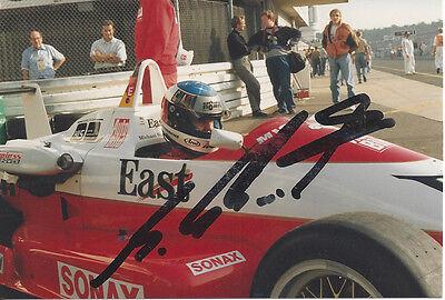 Michael Schumacher original Autogramm auf Foto, Formel 1, signiertes Foto