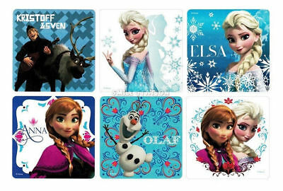 12 Disney Frozen Movie Anna Olaf Elsa Kristoff Stickers Party Goody Bag Favor](Elsa Stickers)