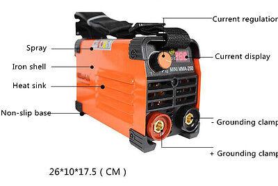New Mini Handheld Mma Welder Ac 220v Output 20-250a Inverter Arc Welding Machine
