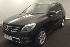 MERCEDES-BENZ ML250 350 CDI B/TEC SE EXECUTIVE AMG LINE SPORT FROM £147 PER WEEK