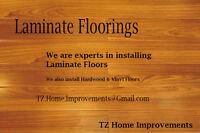 Laminate & Hard Flooring Installers - TZ Renovations