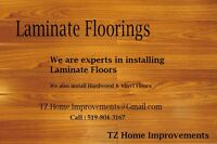 Hardwood Laminate & Vinyl Flooring Installer
