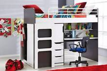Oxford Kids Loft Bed By John Young (Harvey Norman Product) Maroochydore Maroochydore Area Preview