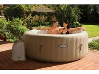 Intex spa hot tub