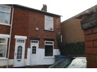 2 BEDROOM HOUSE TO LET IN WARSOP NG20 0AD JUST OFF A60/HIGH ST. SHIREBROOK MANSFIELD M1 & A1 LINKED