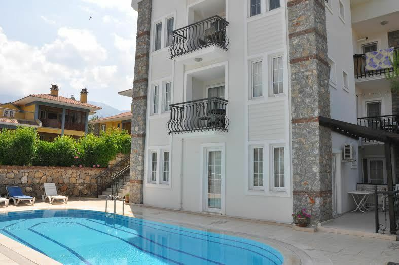 SUNSHINE APARTMENT FOR SALE HISARONU, OLUDENIZ, TURKEY. PRICE REDUCED FOR  QUICK SALE