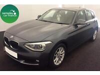 £208.22 PER MONTH GREY 2012 BMW 116i 1.6 SE 5 DOOR PETROL AUTOMATIC
