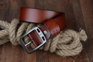 COWATHER cowhide genuine leather belt