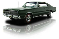 1966 Green Dodge Charger