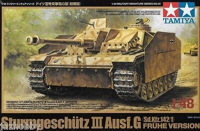 Tamiya 32540 1/48 Model Assault Gun Tank Kit Sturmgeschütz