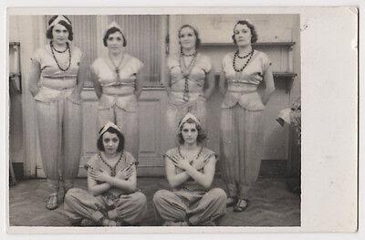 Echtes Original um 1920 Tänzerinnen in exotischem - 1920 Tänzerin Kostüm