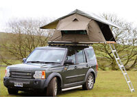 Brand New Ventura Deluxe 1.4 Car Roof Tent Expedition Camping 4x4 Land Rover T5 Roof Tent RRP £1600
