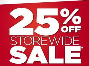25% OFF STOREWIDE - Home & Office Furniture!