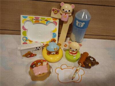 2019 The Rilakkuma Mcdonalds Happy Meal Toys Complete 8 PCS NIP