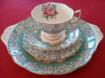 Royal Albert - Set (4) - Romantisch - Porselein