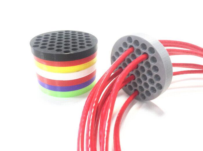 как выглядит 48 hole Network cable Comb Machine Wire Harness Arrangement tidy tools cat5 cat6 фото