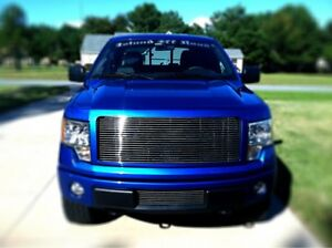 2013-14  Ford F-150 Billet Grille Grill combo Inserts