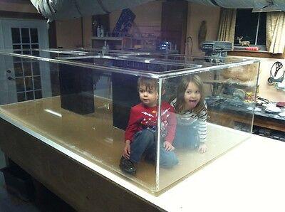 Acrylic Aquarium-- Dream Tank ! 96/48/24 480 Gallon