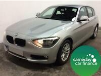 £192.85 PER MONTH SILVER 2012 BMW 118 2.0 SE STEP 5 DOOR DIESEL AUTOMATIC