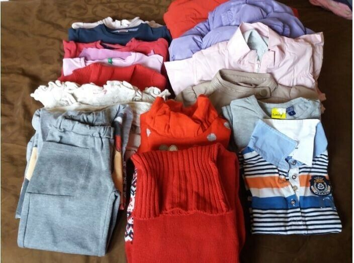 Bundle of girls clothes 4 years