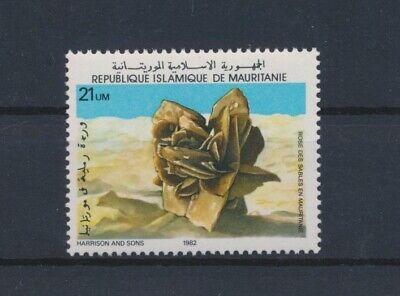 LO13368 Mauritania 1982 sand rose sculpture fine lot MNH