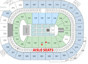 *** The Weeknd Lower Bowl Sec 117 Tickets ***