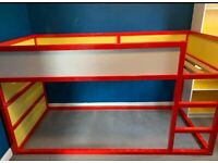 Childs mid sleeper single bed