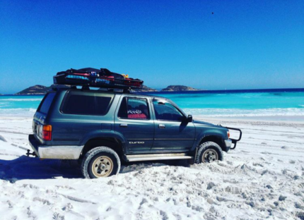 1991 Toyota Hilux Surf 260100 kms great condition