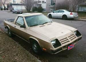 1983 Dodge Rampage!! Must sell!!.