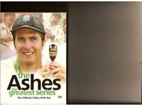 DVD BOX SET - ASHES the Greatest series - Cricket - NEW unopened