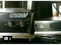 Behringer Europower EP2500 POWER AMPlifier